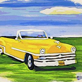My 1953 Chrysler Convertible by Phyllis Kaltenbach