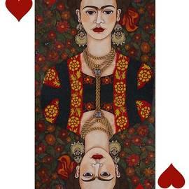 Madalena Lobao-Tello - Frida Kahlo reina de corazones II