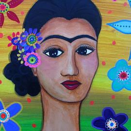My Lady Frida Kahlo by Pristine Cartera Turkus