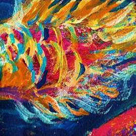 Anne-Elizabeth Whiteway - My LIttle Fishy Painting