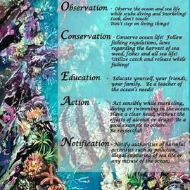Sue Duda - My Ocean Creed