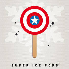 My Superhero Ice Pop - Captain America by Chungkong Art