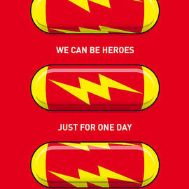 Chungkong Art - My SUPERHERO PILLS - The Flash