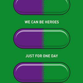Chungkong Art - My SUPERHERO PILLS - The Hulk