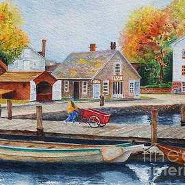 Mystic Seaport by Karen Fleschler