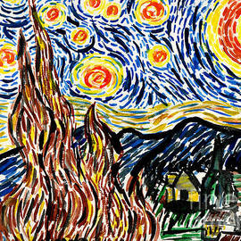 Genevieve Esson - Vincent van Goghs Starry Night
