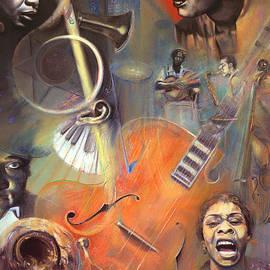 N O T E W O R T H Y - Pastel Art - Border and Title by Brooks Garten Hauschild