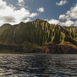 Na Pali Coast Kauai Hawaii by Brian Harig