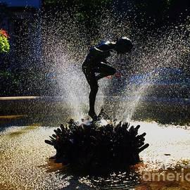 Naiad Statue Vision # 3 by Marcus Dagan