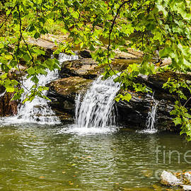 Nantahala Waterfall by Elvis Vaughn