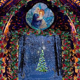 Nativity and Tannenbaum Christmas  by Michele Avanti
