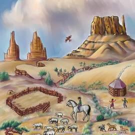 Dawn Senior-Trask - Navajo Sheepherder - age 11