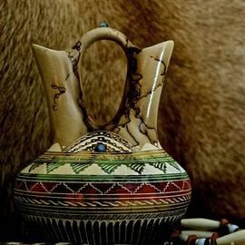 Lisa  Telquist - Navajo Wedding Vase