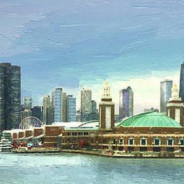 Navy Pier Chicago --Winter by Doug Kreuger