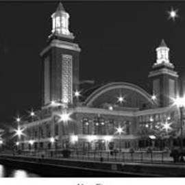 Twenty Two North Photography - Navy Pier in Black and White