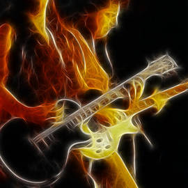 Neal Schon-GC5A-Fractal by Gary Gingrich Galleries