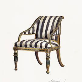 Neoclassical Armchair by Jazmin Angeles