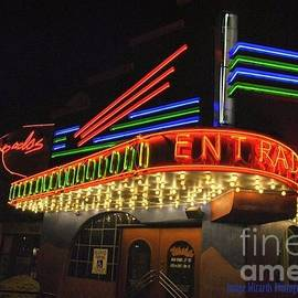 Neon Night Lights Marquee by Pamela Smale Williams