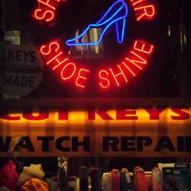 Miriam Danar - Neon of New York - Shoe Repair Shoe Shine