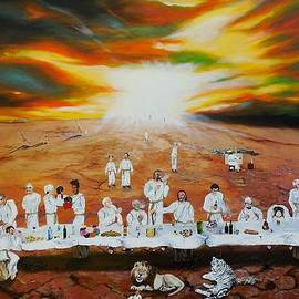 Raymond Perez - Never ending Last Supper