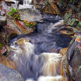 New Hampshire Rapids by Marcia Colelli