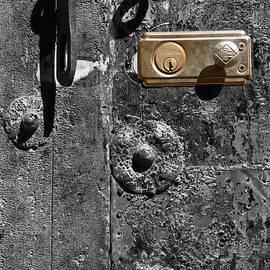 New lock on old door 1 by James Brunker