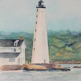 Patty Kay Hall - New London Harbor Lighthouse New London CT