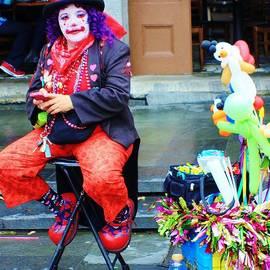New Orleans Clown