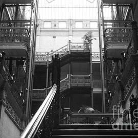 New Photographic Art Print For Sale Bradbury Building 13 Downtown La by Toula Mavridou-Messer