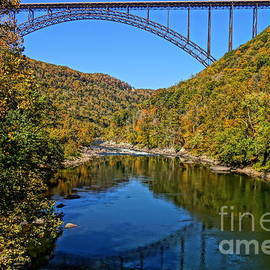 Timothy Connard - New River Gorge Bridge Fall Profile