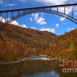 Adam Jewell - New River Gorge Fiery Fall Colors