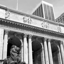 New York Public Library by Simone Blakeney