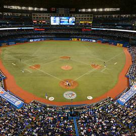 New York Yankees V. Toronto Blue Jays by Mark Cunningham