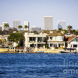 Paul Velgos - Newport Beach Skyline and Waterfront Homes Picture