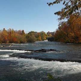 Richard Andrews - Niagara River - Autumn