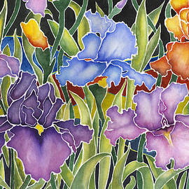 Connie Ely McClure - Night Irises