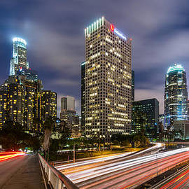 Night in Los Angeles by Radek Hofman