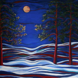 Night Serenity  by Kathy Peltomaa Lewis