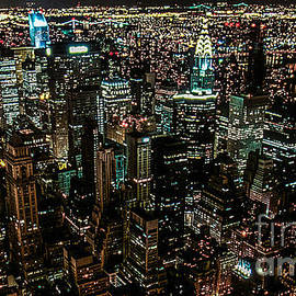 Kim Lessel - Night view from Empire State Building