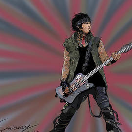 Nikki Sixx by Kevin Sweeney