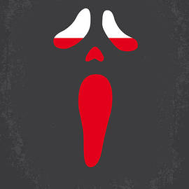 Chungkong Art - No121 My SCREAM minimal movie poster