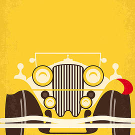No206 My The Great Gatsby minimal movie poster by Chungkong Art