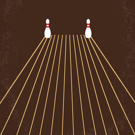 No244 My KINGPIN minimal movie poster by Chungkong Art