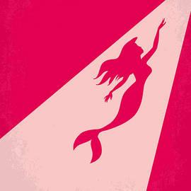 No314 My Mermaid minimal movie poster by Chungkong Art