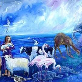 Noahs Ark - After the Flood  by Trudi Doyle