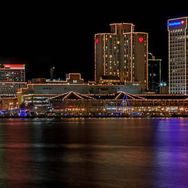 Norfolk Virginia Skyline by Jerry Gammon