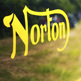 Norton Commando Abstract by Tim Gainey