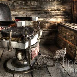 Nostalgia Barber Chair Bannack Montana by Bob Christopher