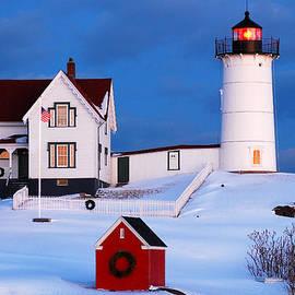 Nubble Light in Winter