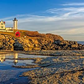 Susan Candelario - Nubble Lighthouse Reflections